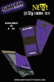 Smith safety gear presents purple gaskets