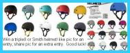 Facebook Giveaway! Win a helmet!